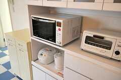 キッチン家電の様子。(2010-11-02,共用部,KITCHEN,1F)