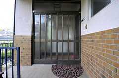 正面玄関の様子。(2014-04-24,周辺環境,ENTRANCE,1F)