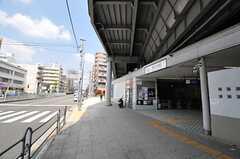 東急東横線・東白楽駅の様子。(2014-04-24,共用部,ENVIRONMENT,1F)