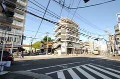 シェアハウスから各線・戸塚駅へ向かう道の様子。(2013-09-18,共用部,ENVIRONMENT,1F)