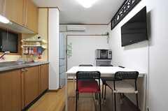 キッチンと一体型です。(2014-01-14,共用部,LIVINGROOM,1F)