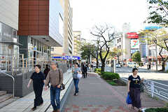 東急田園都市線・たまプラーザ駅前の様子。(2016-10-20,共用部,ENVIRONMENT,1F)