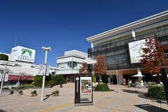 東急田園都市線・たまプラーザ駅前の様子2。(2016-10-20,共用部,ENVIRONMENT,1F)