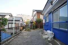 庭の様子。(2011-11-21,共用部,OTHER,1F)