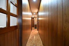 廊下の様子。(2017-01-10,共用部,OTHER,1F)