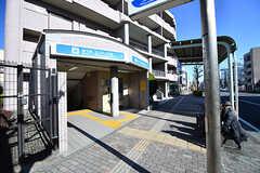 市営地下鉄ブルーライン・三ツ沢上町駅の様子。(2017-01-10,共用部,ENVIRONMENT,1F)