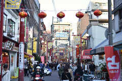 横浜中華街の様子。(2018-11-17,共用部,ENVIRONMENT,1F)