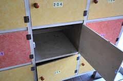 靴箱の様子。(2014-04-01,周辺環境,ENTRANCE,1F)