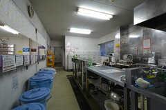 キッチンの様子2。(2015-01-22,共用部,KITCHEN,1F)