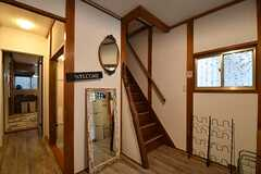 階段の様子。(2017-03-21,共用部,OTHER,1F)