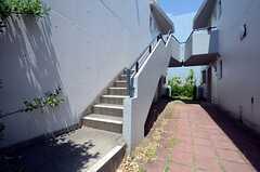 外階段の様子。(2015-05-07,共用部,OTHER,1F)
