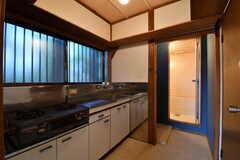 全室、キッチンが設置されています。(102号室)(専有部棟)(2017-11-14,専有部,ROOM,1F)