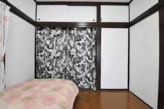 収納の様子。(203号室)(2013-03-12,専有部,ROOM,2F)