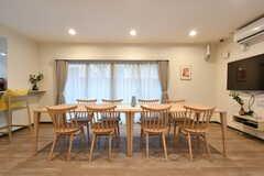 ダイニングテーブルの様子。(2020-03-02,共用部,LIVINGROOM,1F)