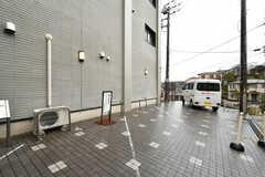 駐車スペースの様子。(2020-03-02,共用部,GARAGE,1F)