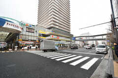 各線・上大岡駅前の様子。(2020-03-02,共用部,ENVIRONMENT,1F)