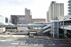 JR・東神奈川駅周辺の様子。(2020-10-20,共用部,ENVIRONMENT,1F)