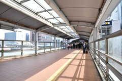 JR・東神奈川駅の様子。(2020-10-20,共用部,ENVIRONMENT,1F)