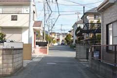 周辺は静かな住宅街2。(2020-02-07,共用部,ENVIRONMENT,1F)