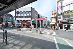 各線・日吉駅前の様子。(2020-02-07,共用部,ENVIRONMENT,1F)