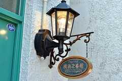 シェアハウスのサイン。(2011-01-12,周辺環境,ENTRANCE,1F)