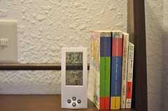 本棚もあります。(2011-01-12,共用部,LIVINGROOM,1F)