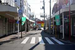 近くの商店街の様子。(2011-01-12,共用部,ENVIRONMENT,1F)