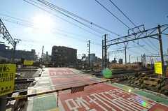 京急本線・生麦駅からシェアハウスへ向かう道の様子。(2011-01-12,共用部,ENVIRONMENT,1F)
