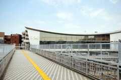 相鉄線・西横浜駅の様子2。(2010-08-17,共用部,ENVIRONMENT,1F)