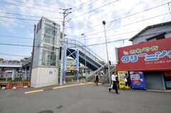 相鉄線・西横浜駅前の様子。(2010-08-17,共用部,ENVIRONMENT,1F)