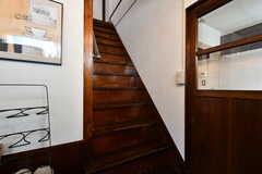 階段の様子。(2018-03-30,共用部,OTHER,1F)