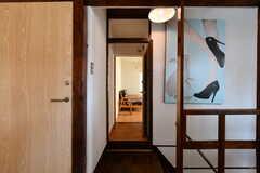 専有部の入口。(201号室)(2018-03-30,専有部,ROOM,2F)