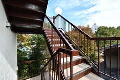 階段の先は屋上です。(2018-10-31,共用部,OTHER,3F)