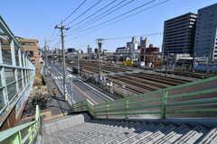 駅周辺の様子。(2019-03-15,共用部,ENVIRONMENT,1F)