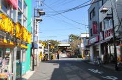 東急東横線・妙蓮寺駅前の様子2。(2013-02-25,共用部,ENVIRONMENT,1F)