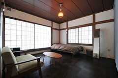 専有部の様子。一番広い部屋です。(201号室)(2014-02-13,専有部,ROOM,2F)