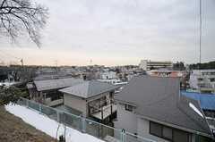高台に建っていて、街が一望できます。(2014-02-13,共用部,ENVIRONMENT,1F)