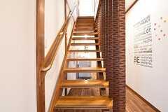 階段の様子。(2016-07-08,共用部,OTHER,1F)