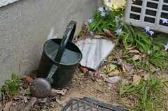 庭のじょうろ。(2013-04-11,共用部,OTHER,1F)