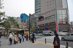 京急線・上大岡駅前の様子。(2013-04-11,共用部,ENVIRONMENT,1F)