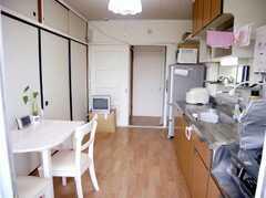 シェアハウスのラウンジ(2007-07-29,共用部,LIVINGROOM,5F)
