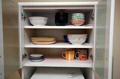 食器棚の様子2。(2008-08-28,共用部,OTHER,5F)