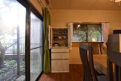 食器棚の様子。(2016-09-26,共用部,KITCHEN,1F)