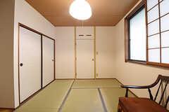 専有部の様子2。収納付きです。(204号室)(2016-09-26,専有部,ROOM,2F)