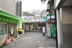 東急東横線白楽駅の様子。(2010-02-23,共用部,ENVIRONMENT,1F)