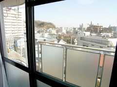 専有部の様子3。窓からの見晴らしが最高。(2041号室)(2007-02-16,専有部,ROOM,2F)