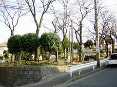 シェアハウス近くには公園も。(2007-02-16,共用部,ENVIRONMENT,1F)
