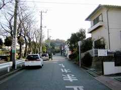 京浜急行線井土ヶ谷駅からシェアハウスへ向かう道の様子。(2007-02-16,共用部,ENVIRONMENT,1F)
