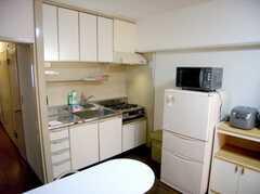 キッチンの様子。(2007-05-31,共用部,KITCHEN,3F)