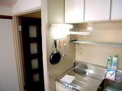 キッチンの様子2。(2007-05-31,共用部,KITCHEN,3F)